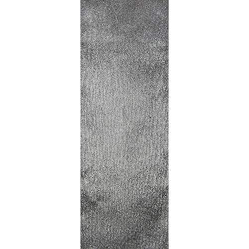 Clairefontaine 95276C Rolle Metallkrepppapier (250 x 50 cm, 72 g, ideal für Deko, mit Glanzeffekt) 1 Rolle silber