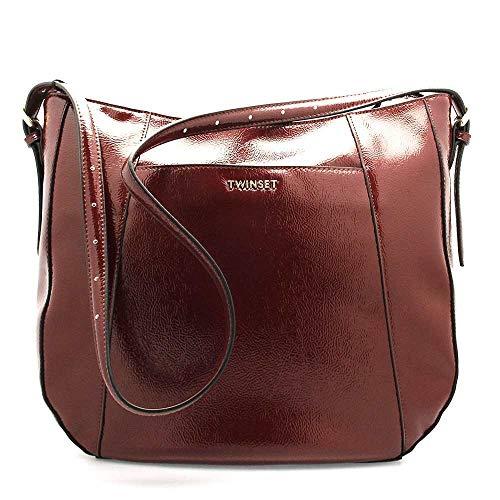 Twinset Milano Borsa TWIN-SET Donna Bordeaux - 192TO8152-04224