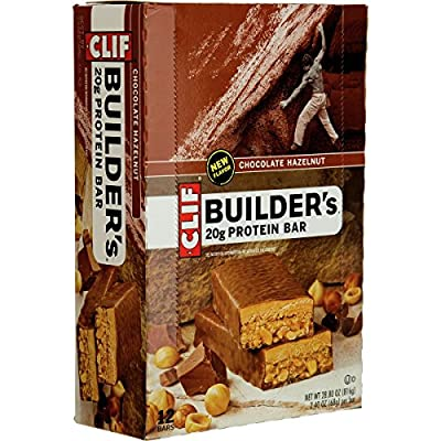 Clif Bar Builder's Bar, 2.4-Ounce Bars, 12 Count