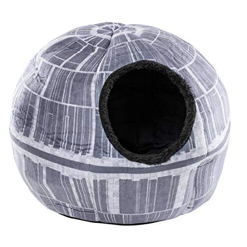 Star Wars Todesstern Tierhöhle - Kuschelhöhle für Haustiere wie Katzen und kleine Hunde