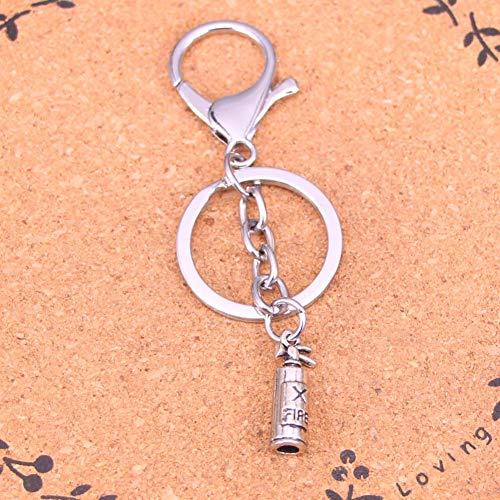 YCEOT verchroomde metalen sleutelhanger voor het beste cadeau brandblusser sleutelhanger sleutelhanger antieke Ailver hanger