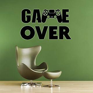 Hilai Sticker Mural décoratif Stickers muraux Gamer pour Les ...