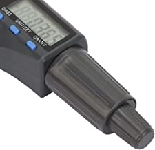 Cabeça de micrômetro digital métrica, cabeça de micrômetro digital, cabeça de micrômetro digital LED, para processamento d...