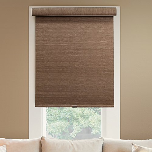 CHICOLOGY Deluxe Free-Stop Cordless Roller Shades No Tug Privacy Window Blind, 28