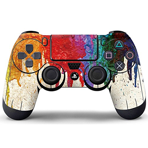 Pandaren® skin sticker for PS4/ SLIM/ PRO controller x 1 (wet graffiti)