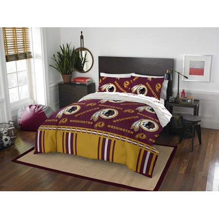 Washington Redskins Bed in Bag Set with Sheets Queen