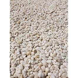 Der Naturstein Garten 25 kg Gravillon de Quartz Blanc 2-5 mm – Livraison Gratuite