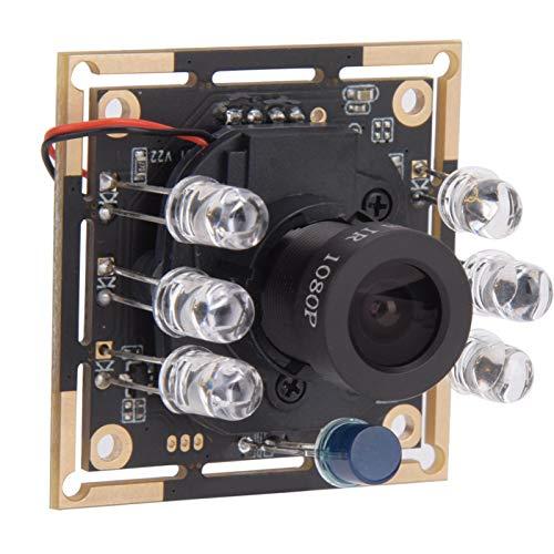 Módulo de cámara USB OV9732 1280 x 720 30fps, módulo de lente de cámara gran angular de 72 ° de reconocimiento facial infrarrojo para monitoreo de seguridad y grabadoras
