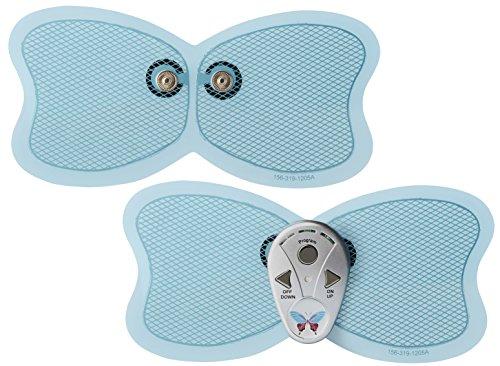 BUTTERFLYABS(バタフライアブス) ダイエット 腹筋 器具 EMS 10段階調整 6プログラム 1分間に4200回振動