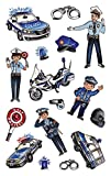 AVERY Zweckform 56794 Metallic Stickers, Polizei, 16 Aufkleber