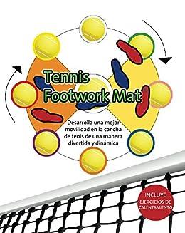 Tennis Footwork Mat en Español: Desarrolla movilidad en la cancha ...