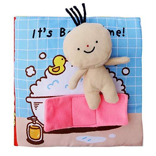 fghdf Bebé Educación temprana Rompecabezas Libro de tela 0-1-3 años de edad...