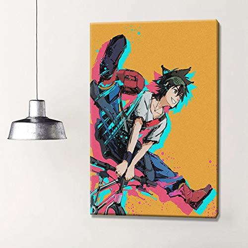 wZUN Cartel de Anime Artista de la Pared decoración del hogar impresión decoración del Dormitorio Lienzo Pintura 60x80 Sin Marco