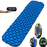 Best Backpacking Sleeping Pads - SCOUTDOORS Camping Sleeping Pad - Inflatable Compact Review