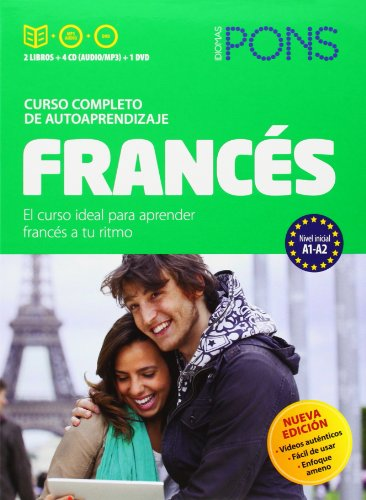 Curso Pons Francés. 2 libros + 4 CD + DVD (French Edition)