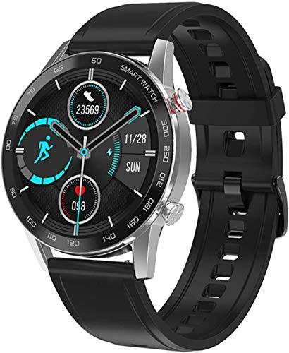 Reloj inteligente de alta definición para hombre, IP68, monitoreo de la salud del ritmo cardíaco, modo deportivo 1.3 Inc reloj deportivo con llamada Bluetooth (color: D)-D