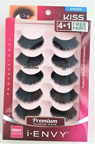 Kiss i.envy Multi-Pack Professional Eyelashes (KPEM38)