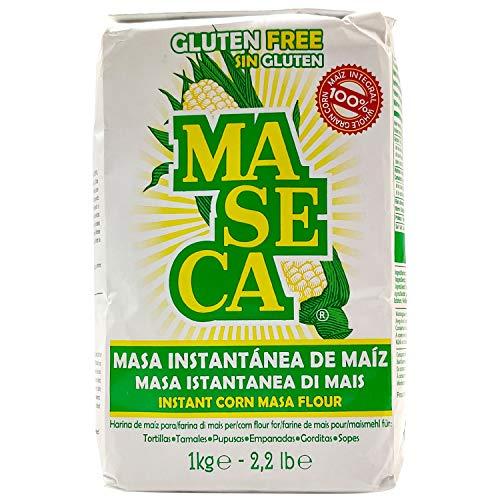 Maseca Instant Yellow Corn Masa Flour 4.4lb | Masa Instantanea de Maiz Amarillo 2.2kg