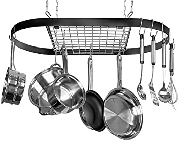 Kinetic Pot Black with Silver Rack