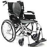 Karman Ergonomic Wheelchair Ergo Flight with Quick Release Axles in 16