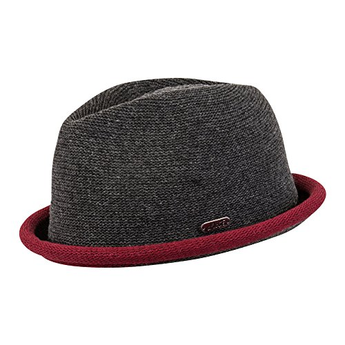 CHILLOUTS Boston Hat Dark Grey - S/M