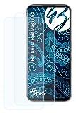 Bruni Schutzfolie kompatibel mit Nubia Red Magic 5S Folie, glasklare Bildschirmschutzfolie (2X)