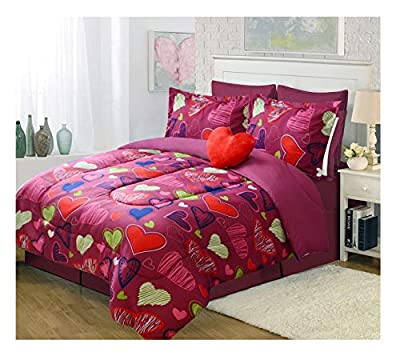 All American Collection 3 Piece Twin Size Comforter Set with Toy