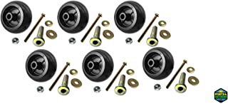 Parts 4 Outdoor 6 Deck wheel Kit REPLACEMENTUSA MADE Fits Exmark 103-3168 103-4051 1-603299
