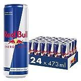 Red Bull Energy Drink Dosen Getränke 24er Palette, EINWEG (24 x 473 ml)