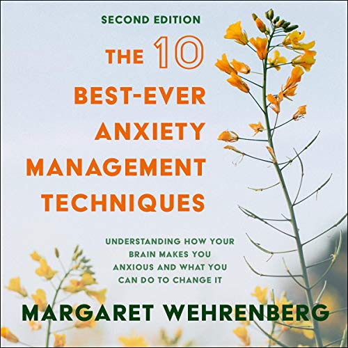 The 10 Best-Ever Anxiety Management Techniques audiobook cover art