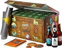 Un coffret de voyage regroupant 24 bières du monde entier. Accompagné d'1 carte du monde à gratter, 1 décapsuleur, 4 sous-bocks, 1 livret de dégustation et 1 e-book. Cet assortiment vous permettra de faire le tour du monde des saveurs. Un cadeau comp...