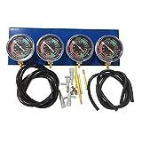 YOUNGL Motorcycle Vacuum Carburetor Synchronizer, Carburetor Synchronizer Stabilizer, Universal Motorcycle Synchronization Balancer Carb Sync Balancing Gauge Kit