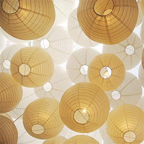 Papierlaternen mit Mini LED Lichter