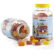 Salaam Nutritionals Children's Halal Gummy Multivitamins and Omega 3