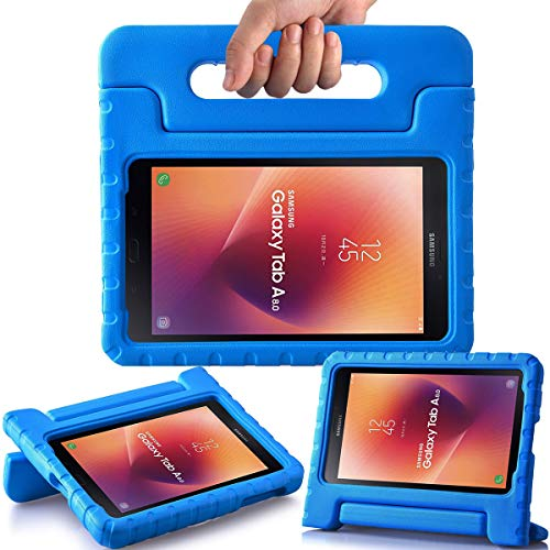 AVAWO Kids Case for Samsung Galaxy Tab A 8.0 2017 (SM-T380/SM-T385) - Shock-Proof Light Weight Super Protection Handle Stand Case for Samsung Galaxy Tab A 8-inch 2017 Tablet, Blue