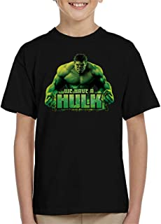 Marvel Avengers We Have A Hulk Kid's T-Shirt