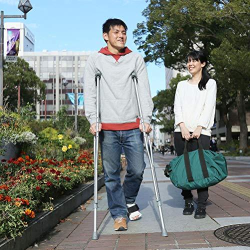 【非課税】竹虎タケトラクラッチ(S)全長94-114cm松葉づえ(2本組)ラテックスフリー