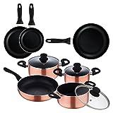 Batería de cocina San Ignacio Top Kitchen color cobre