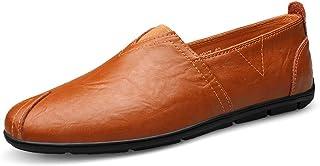 [LILI] メンズ シューズ 紳士靴 革 プレーントゥ ビジネス 内羽根 革靴