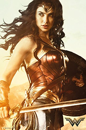 Wonder Woman - Movie Poster/Print (Sword) (Size: 24 inches x 36 inches)