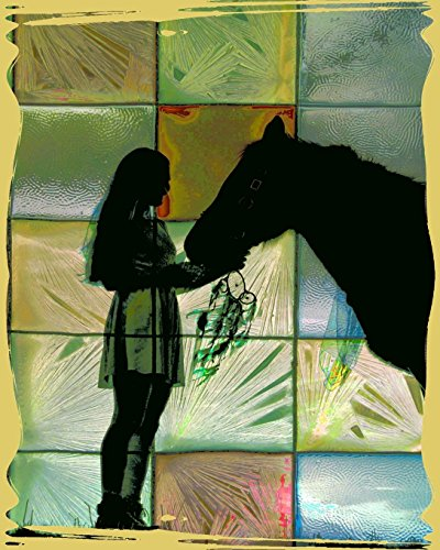 Horse Notebook: College Ruled - Lined Journal - Composition Notebook - Soft Cover Writer's Notebook or Journal for School  - College or Work -  Abstract Horse Lover
