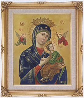 Our Lady of Perpetual Help Framed Art, 16