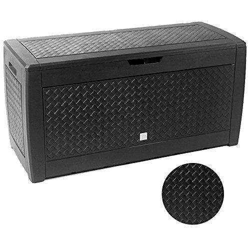 "Prosper Plast mbm310-s433119x 48x 60cm""Boxe Matuba"" Garten Container–Anthrazit (6-teilig)"
