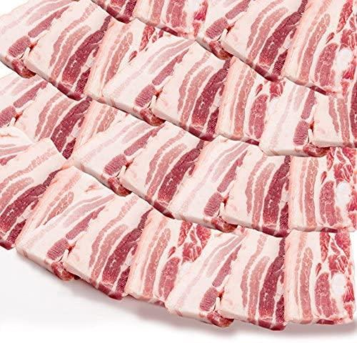 豚バラ 焼肉用厚切り 便利な小分け 豚肉《*冷凍便》 (5kg(250g×20))