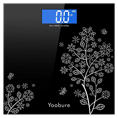 For Sale! Weight Scale, Precision Digital Body Bathroom Scale with Step-On Technology, 6mm Tempered ...