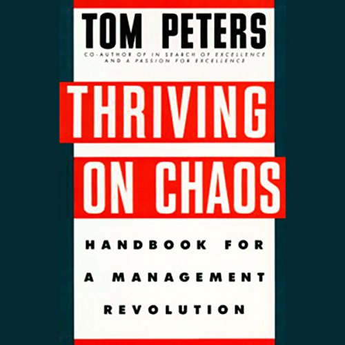 Thriving on Chaos audiobook cover art