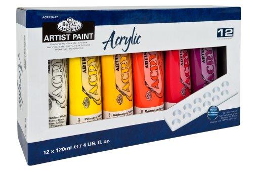 Royal Langnickel & colori acrilici da 120 ml (confezione da 12)