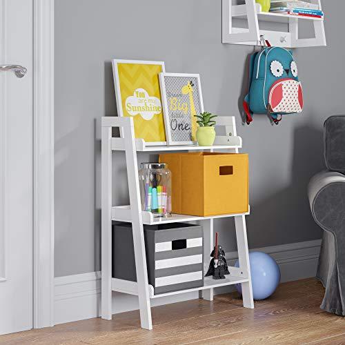 RiverRidge 02 Ladder Shelf, White