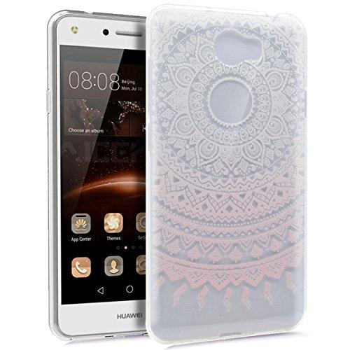 Carcasa Huawei Y5II,funda Huawei Y5II,Huawei Y5II Case,Carcasa Huawei Y5II silicona funda funda teléfono protectora TPU Ultra Delgada Premium Semi Hybrid Crystal Clear Flex Soft Skin Extra Slim T