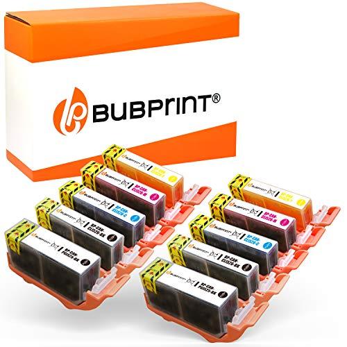 10 Bubprint Druckerpatronen kompatibel für Canon PGI-525 CLI-526 für IP4850 IP4950 IX6550 MG5150 MG5250 MG5300 MG5350 MG6150 MG6250 MG8150 MG8250 MX715 MX885 MX895 Multipack